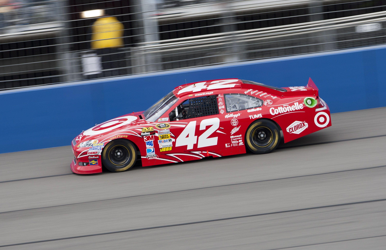 42 Target Car Of Juan Pablo Montoya At California Spring 2012 Earnhardt Ganassi Racing Toy Car Nascar Racing