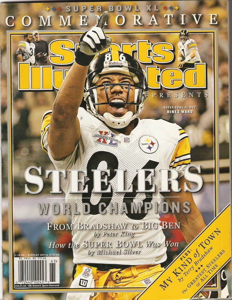 Hines Ward Sports Illustrated | Pittsburgh steelers, Pittsburgh steelers  football, Steeler nation