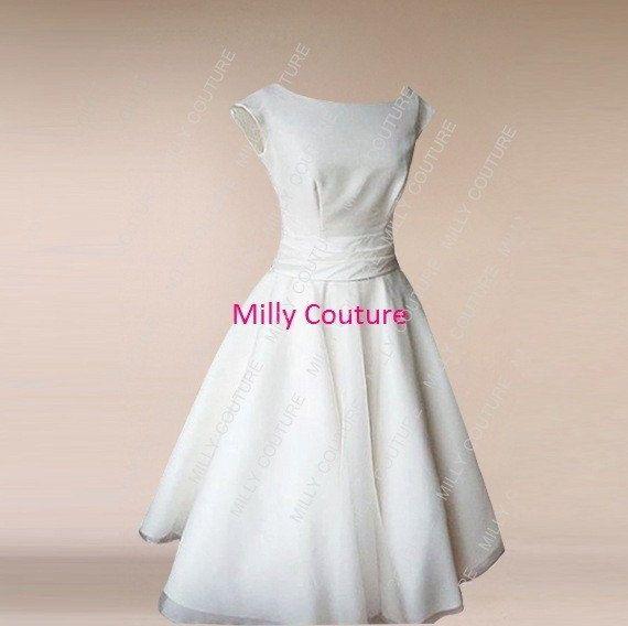 Variante, Änderungen nötig +++ Cap Tee Länge Hochzeitskleid Kleid ...