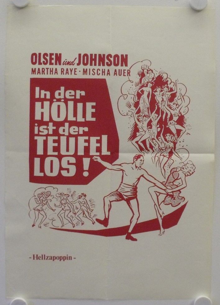 hellzapoppin movie poster - Google-Suche