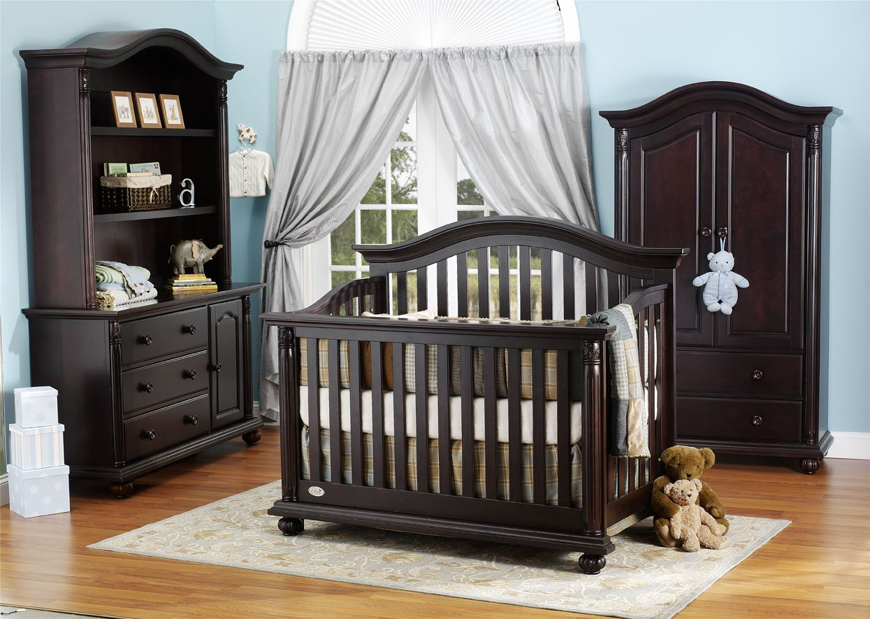 1000 Series Collection In Espresso Crib Baby Babysdream Georgiababy Atlanta Furniture