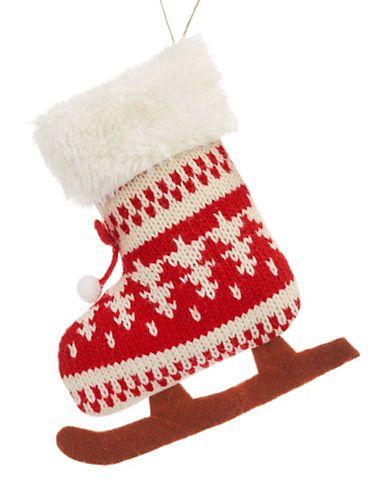 Home Holiday Alpine Cabin Knit Skate Hudson\u0027s Bay canadian - christmas decors