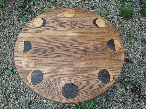 Lunar Phases Altar Table