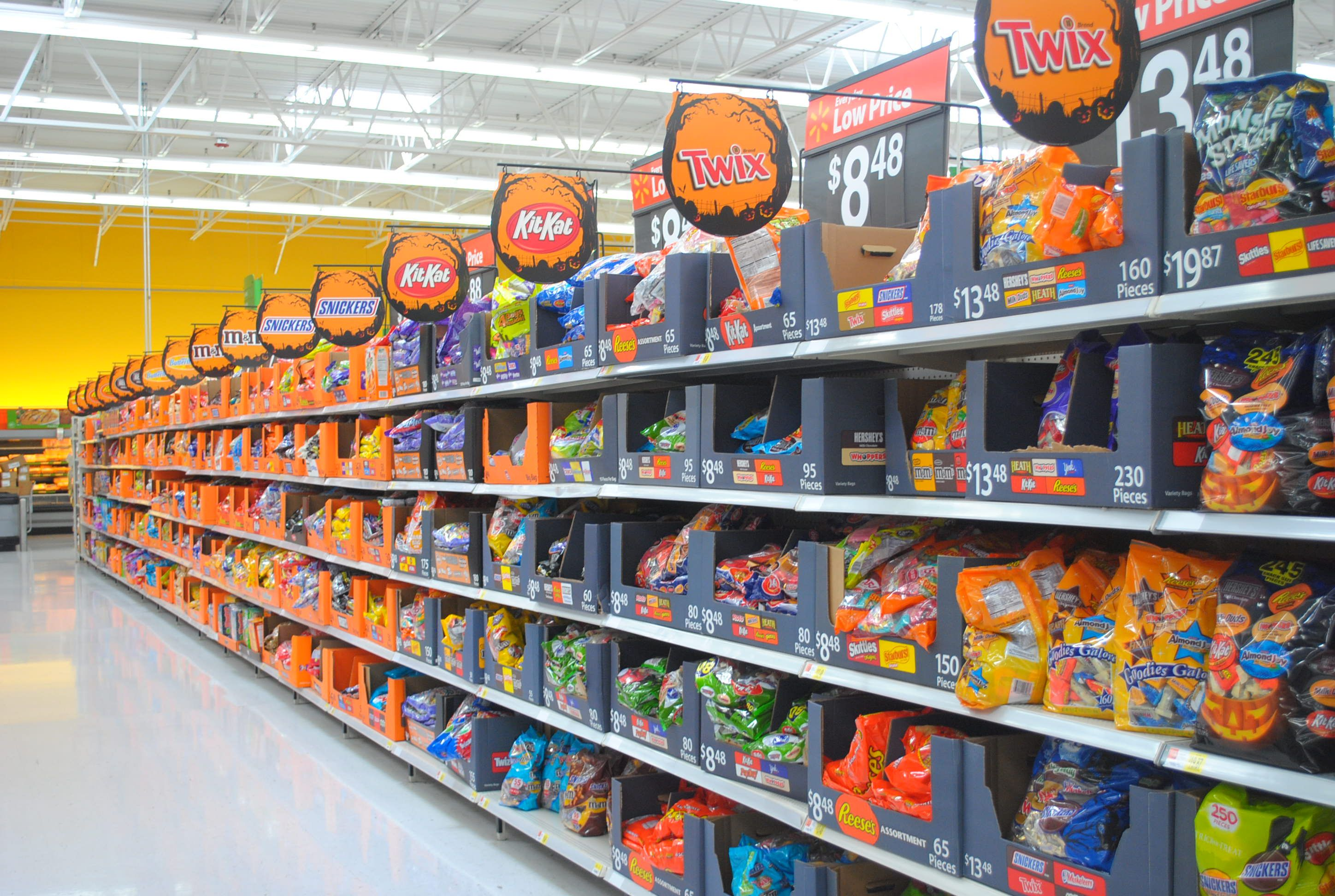 halloween candy in stores already october is national orthodontic health month keep patients flossingandbrushingwithbraces