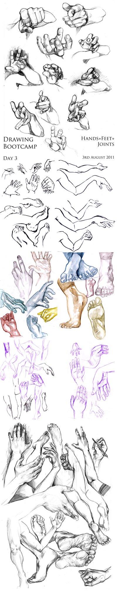3-Aug-2011. Hands+Feet+Joints by Kayla0 | Artwork cartoon ...