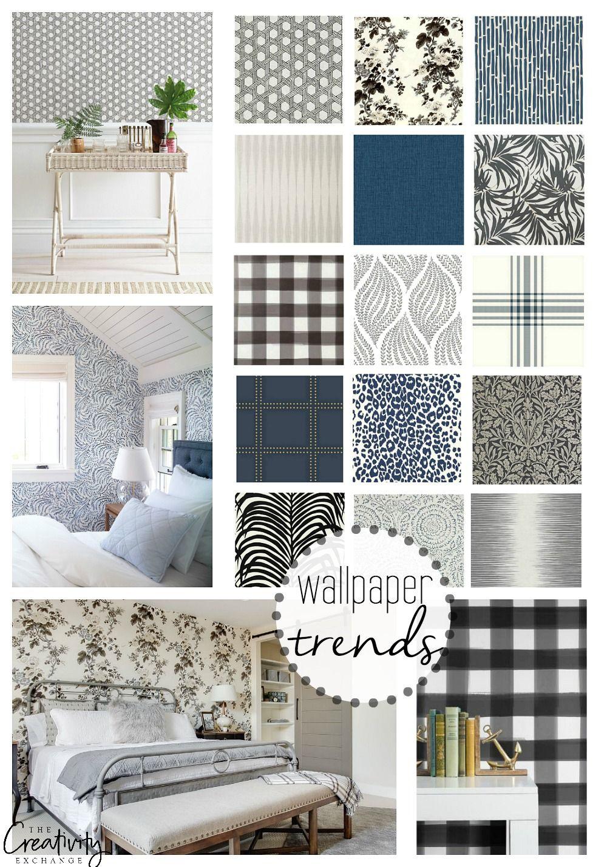 Wallpaper Trends Moody Monday Bathroom Wallpaper Trends