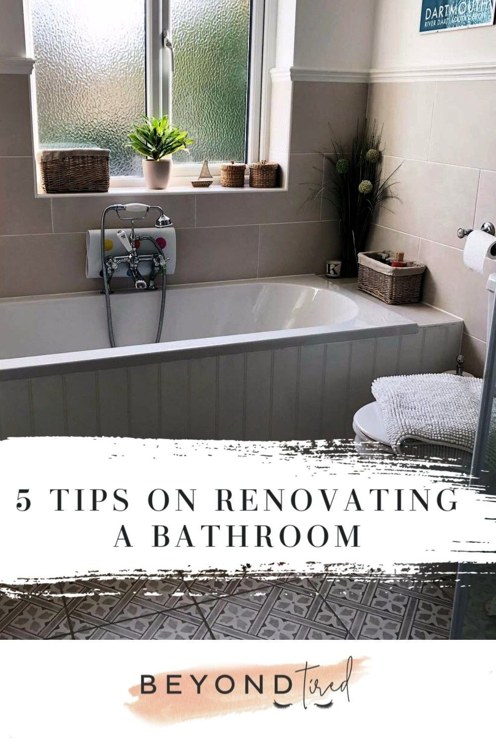 Renovating The Bathroom  Beyond Tired If youre about to renovate or restore your bathroom however big or small or even on a budget then check out some of this post with b...