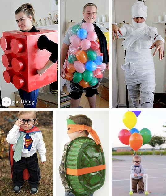 DIY Halloween Costumes For Adults & Kids You Can Make In A