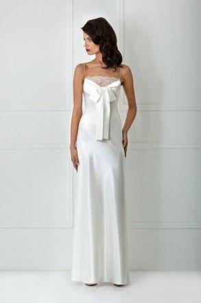 white satin maxi nightdress  night dress gowns dresses