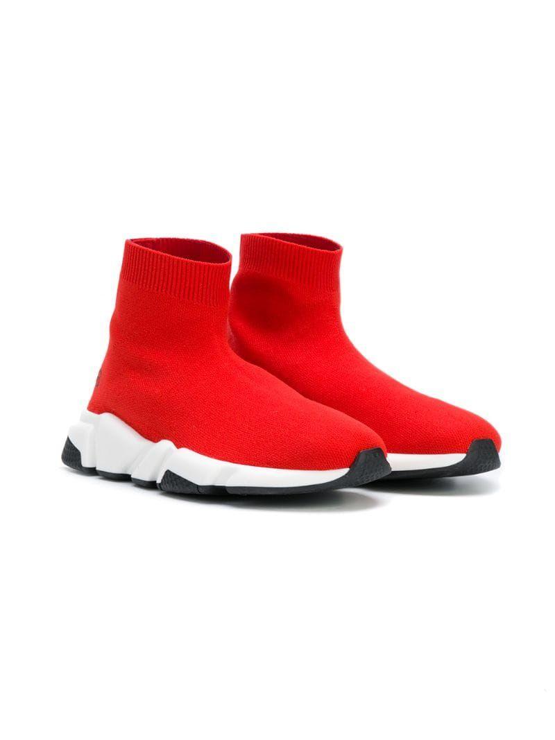 Balenciaga Kids Speed Sock Sneakers