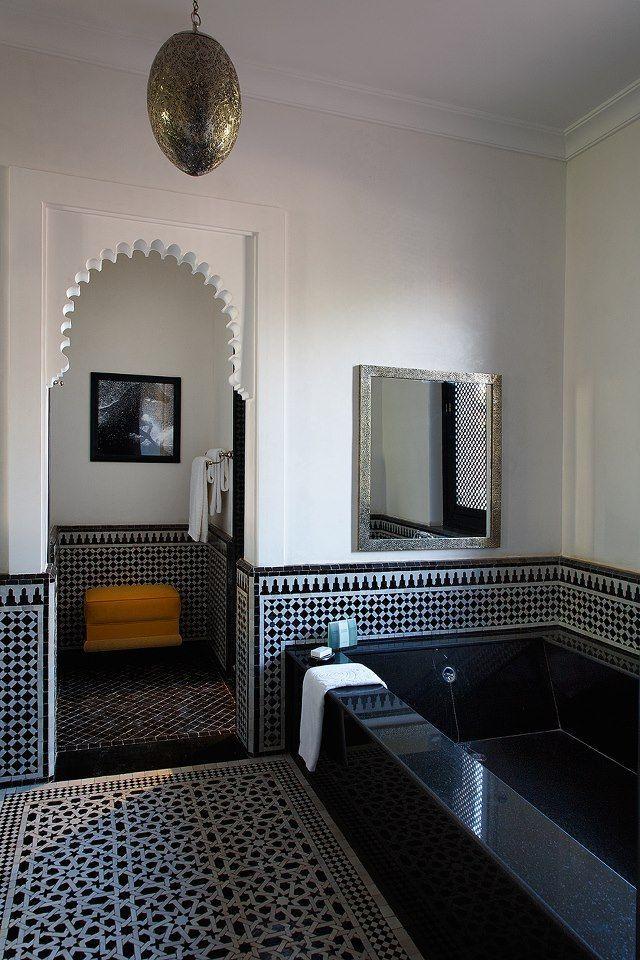 La décoration contemporaine d\'inspiration marocaine | Bathroom ...
