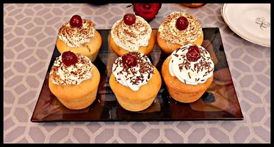 كب كيك مع شام الاصيل بالفيديو Mini Cheesecake Food Cheesecake
