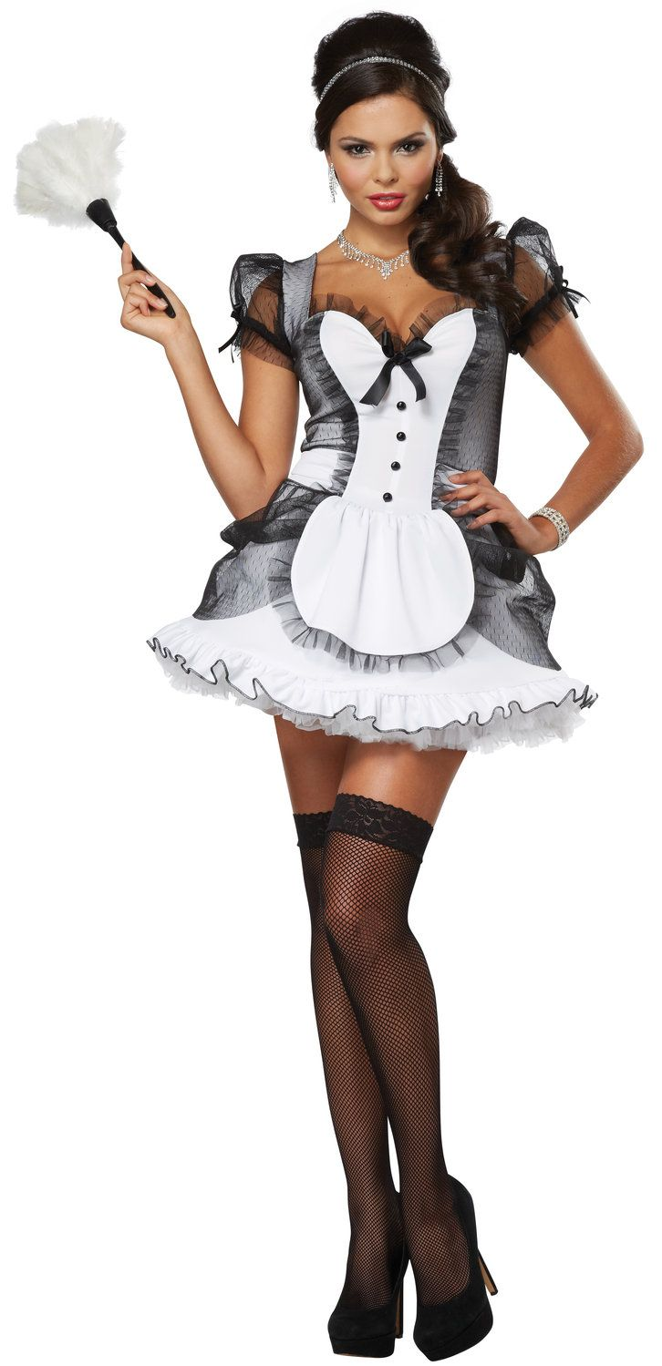 74812f939a5eb Sexy Luxe French Maid Costume. | Dick Appoinment | French maid ...