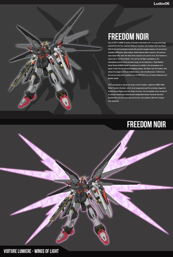 ZGMF-X10A[N] by iludov.deviantart.com on @DeviantArt