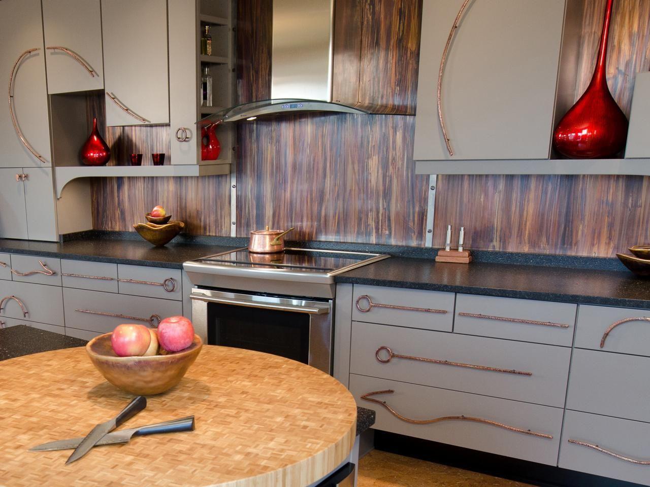 Metal Backsplash Ideas Pictures Tips Hgtv Kitchen Ideas Kitchen Backsplash Ideas Decorative Tin Tiles Metal Backsplash