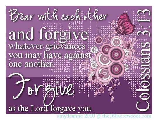 † ~ True Forgiveness Frees Us ~ To be filled with Unfathomable Peace. ~ †