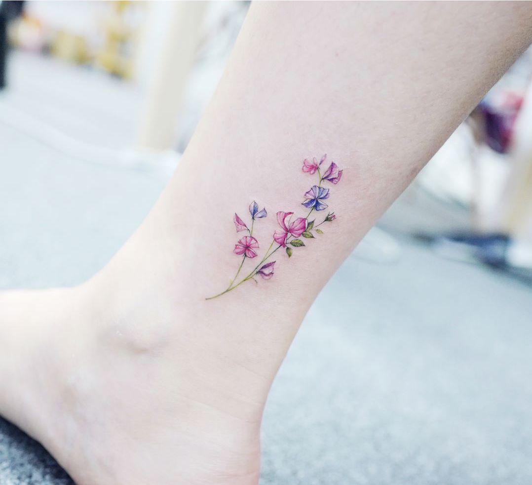 Impresionantes Y Encantadores Tobillo Tatuajes Para Mujeres Las