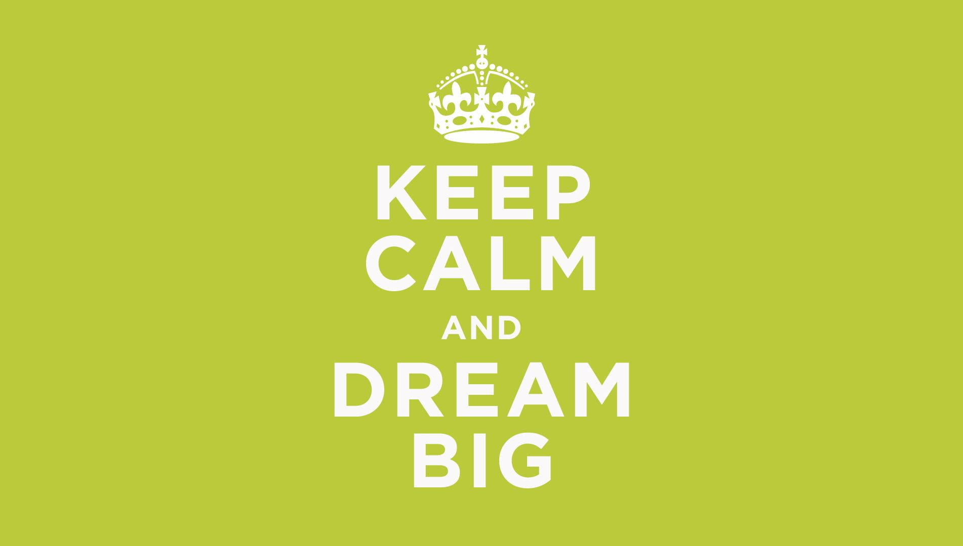 Keep Calm Dream Quotes Background HD Wallpaper