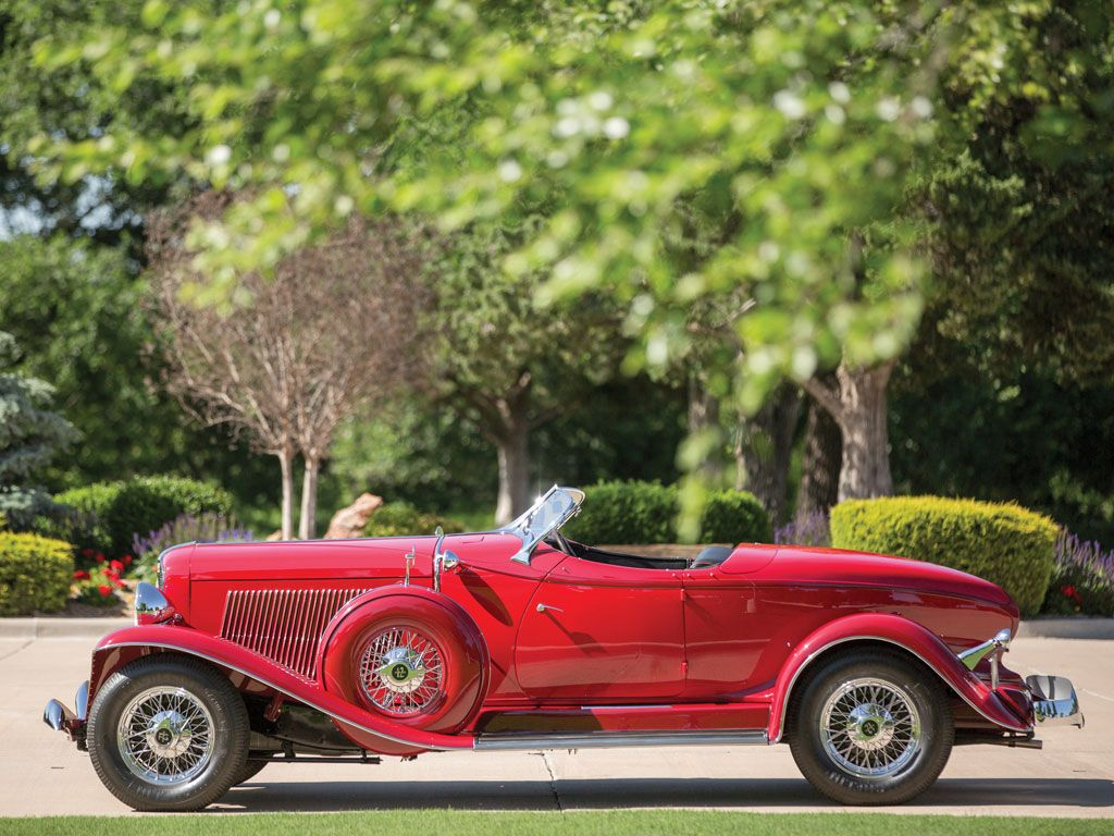 1934 Auburn Twelve Salon Speedster | Motor City 2015 | RM Sotheby's