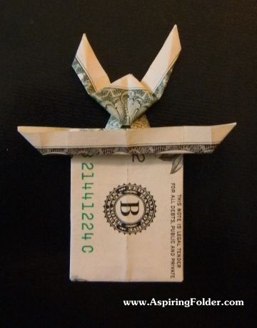 Origami Rabbit Magic Trick   Easy magic tricks, Money origami, Magic card tricks