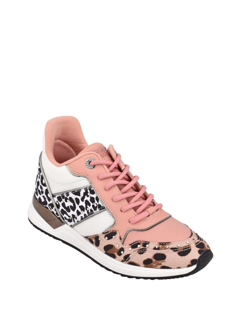 Rejjy Animal Print Sneakers at Guess in