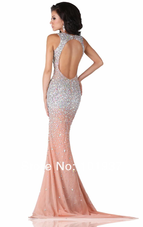 elegant white strapless long evening dresses