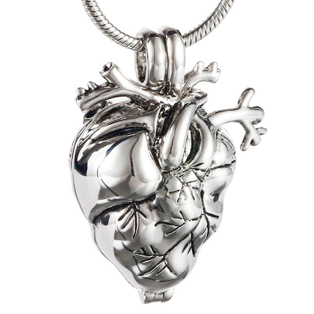 New Style Memorial Heart Cremation Jewelry for Ashes