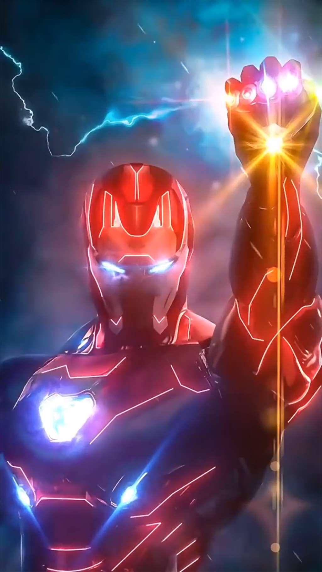 Iron Man Glow Animation | Animated GIFs | 100% Free Media
