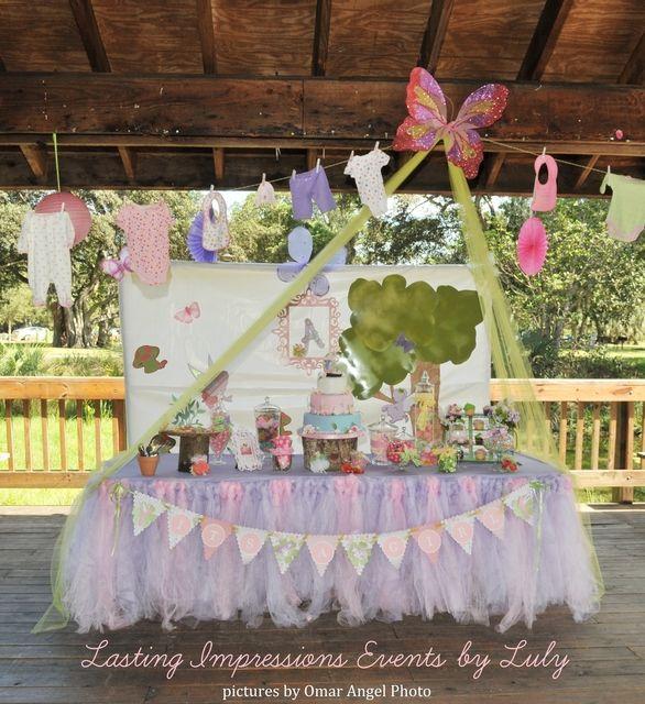 Baby Shower Decorations Garden Theme ~ Fairy garden party baby shower ideas babies