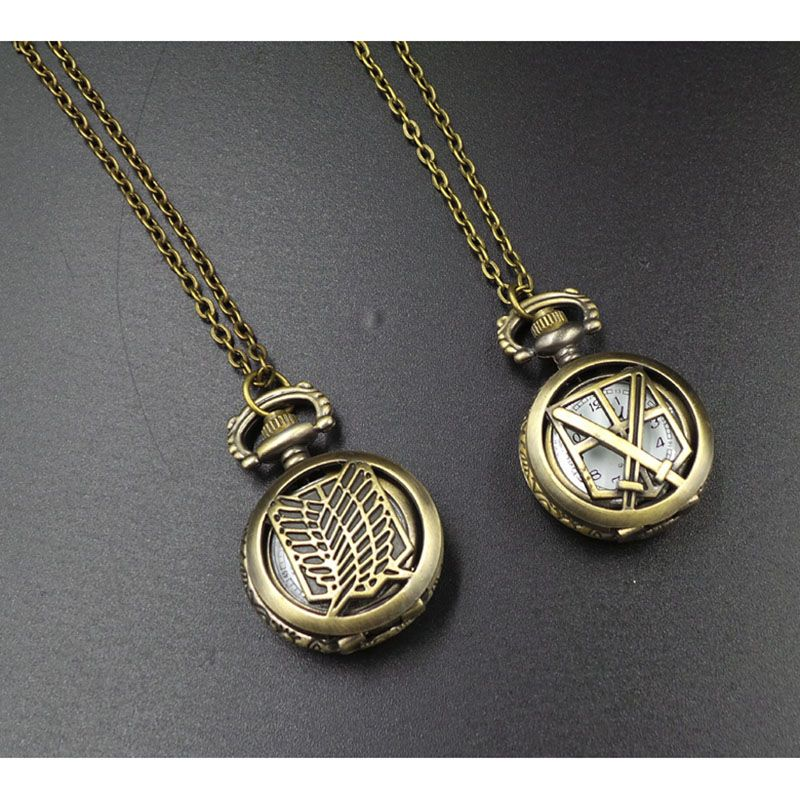 Anime One Piece Cosplay Rotating Ring Necklace Pendant