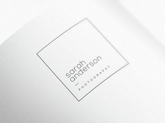 DIY Photography Logo Design. Premade Logo. Logo Design. Business Logo. Logo Template. Instant logo. Custom Logo. Square Logo. Premade Logo.