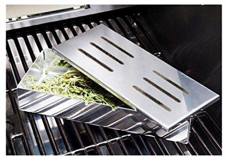 Räucherbox Für Gasgrill : Santos smokerbox räucherbox edelstahl grillzubehör für gasgrill