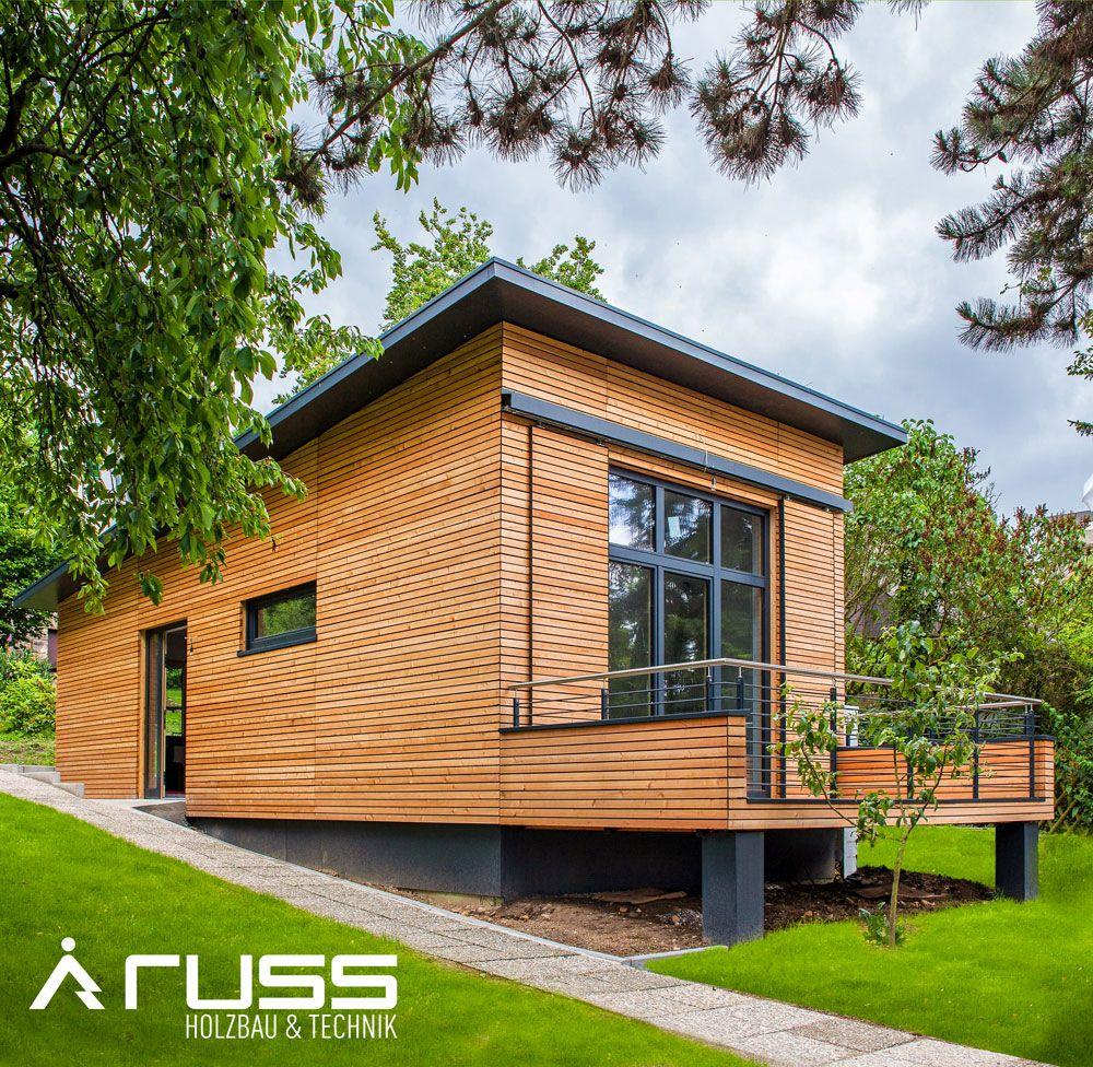 Ein nachhaltiges WohnModul von Russ Holzbau erfüllt alle