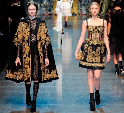 c3d5c1d8ac Dolce   Gabbana Fall 2012 ready-to-wear.
