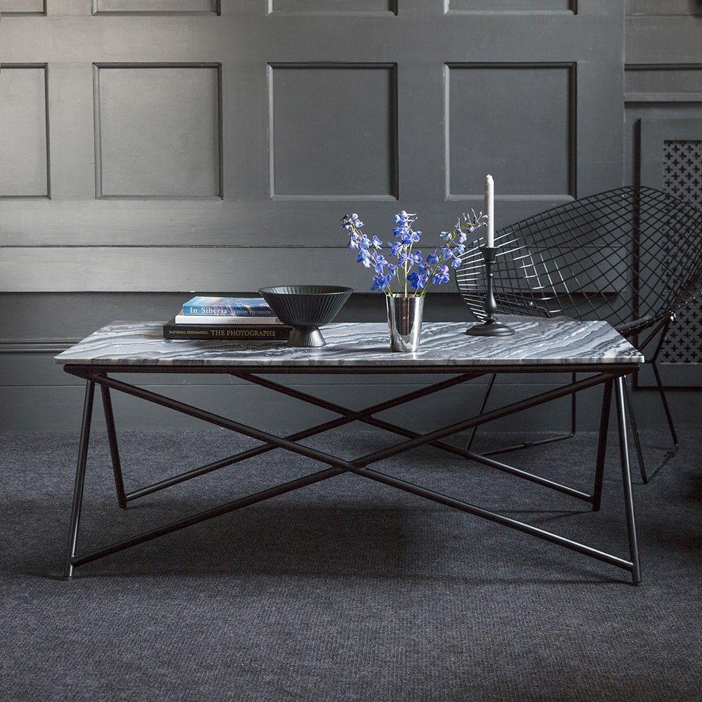Stellar Grey Marble Coffee Table Eta Mid March Coffee Table Marble Coffee Table Unique Coffee Table