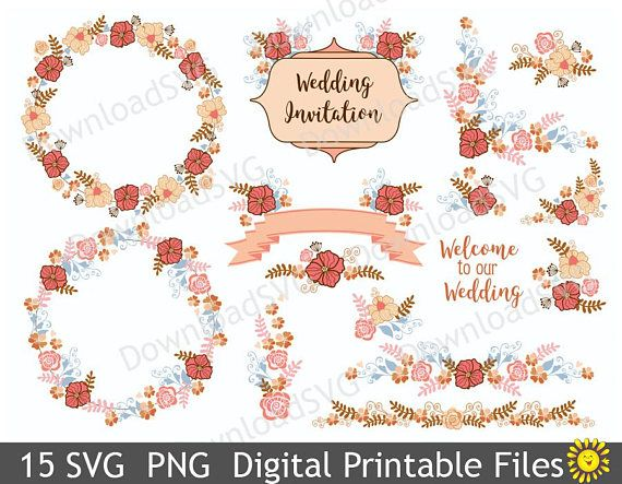 Svg png welcome to our wedding decorations floral elements clipart svg png welcome to our wedding decorations floral elements clipart vector home party template decor cards scrapbooking 112vr junglespirit Images