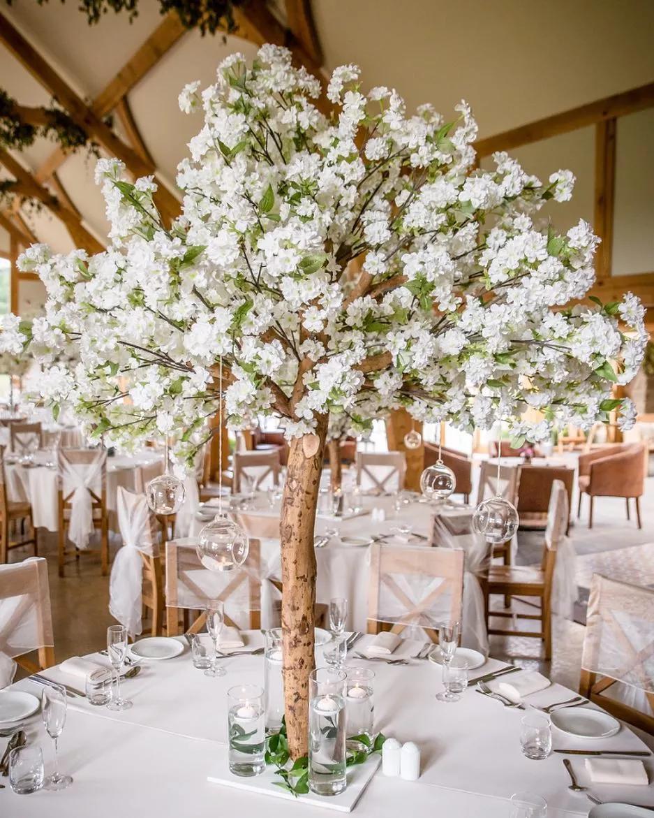 Artificial Cherry Blossom Tree Tree Centrepiece Wedding Blossom Tree Wedding Tree Wedding Centerpieces