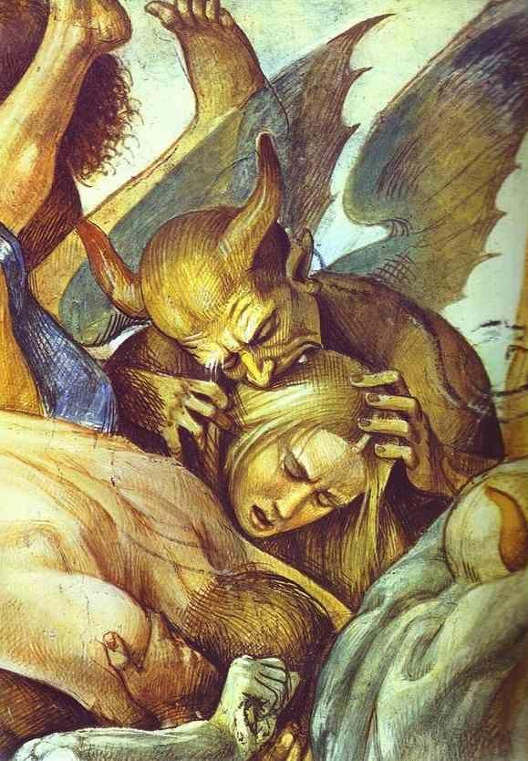 El Infierno (detalle). Por Luca Signorelli, 1499 - 1502. http ...