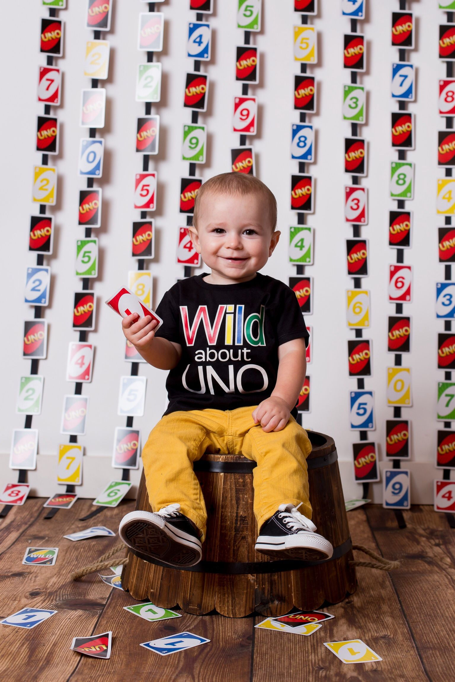 UNO themed first birthday photo. uno 1stbirthday photo