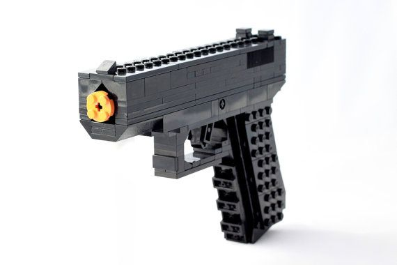 Lego Gun Model Glock 19 by LegoGuns on Etsy, $35.00