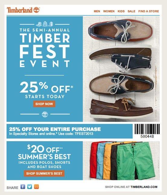 timberland discount coupon