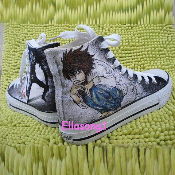 ba99e78cf71c Handmade Animation Converse Custom Shoes