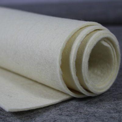 2mm 100% Wool Felt Natural Ecru