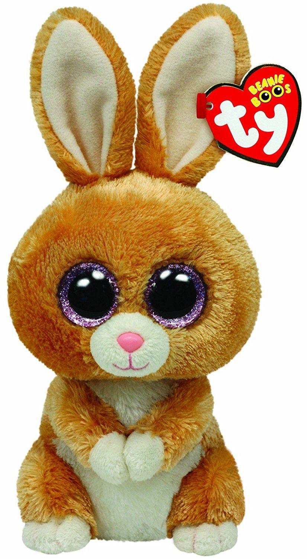 67a56cec3d1 Ty Beanie Boos Carrots Brown Bunny Plush 36106