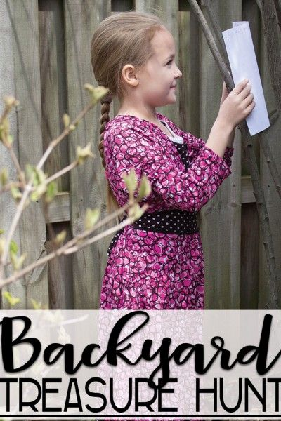 Map Skills for Kids: Backyard Treasure Hunt