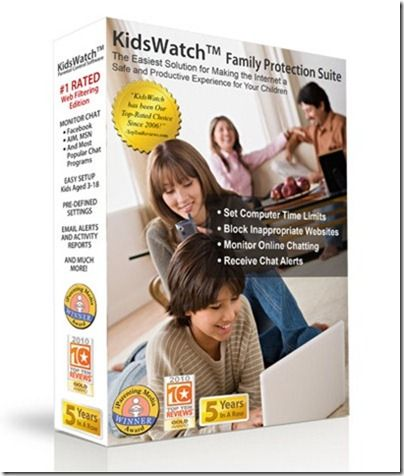 Parental Control Software Free Download KidsWatch.  Computer time limits, e-mail alerts, monitor chat sessions, reports, block web content, etc.