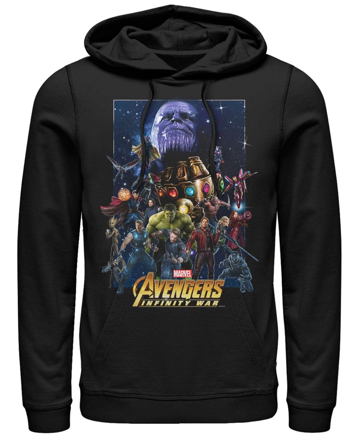 Bestel een Avengers Infinity War Avengers Team trui op