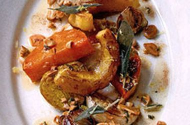 Roasted Root Vegetable Salad with Marcona Almonds — Punchfork