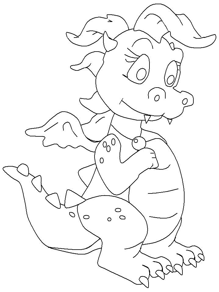 Powerful Chinese Dragon Coloring Pages Check Out And Print These Interesting Free That You Can Use To Interest Your Kid For