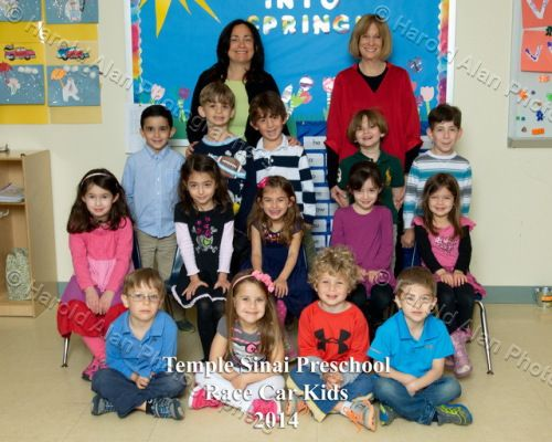 Temple Sinai Preschool Spring Cl Portraits